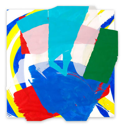 Ellen Priest, 'Jazz: Chick's 'Chelsea Shuffle' #4 (Abstract painting)', 2005
