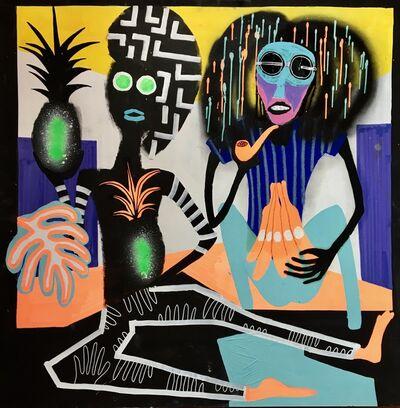 Frantisek Florian, 'African figures 20', 2018