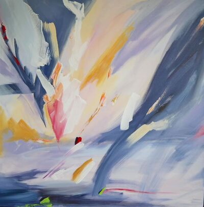 Aleona Isakova, 'The Sky visit III', 2017