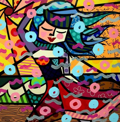 Romero Britto, 'FRESH AIR', 2016