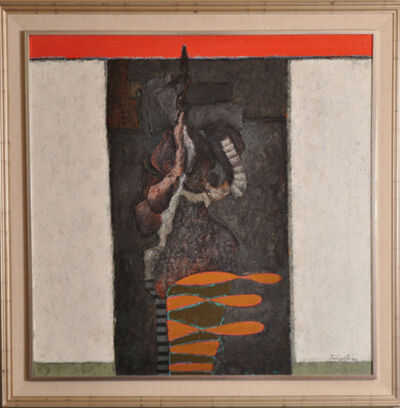 Vladimir Cora, 'Figura en Negro', 1986