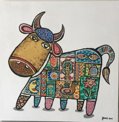 Yeanni Koo, 'Cutie Cow 1', 2019