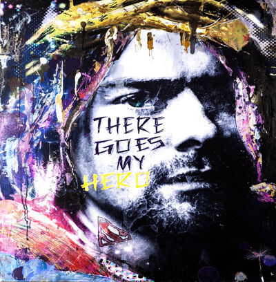 Luciana Caporaso, 'Kurt Cobain - There Goes My Hero', 2021