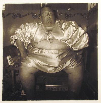 Diane Arbus, 'Fat Man at Carnival', 1970