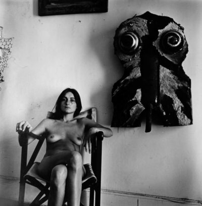 Liliana Maresca, 'Untitled. Liliana Maresca with her artworks | Sin título. Liliana Maresca con su obra', 1983