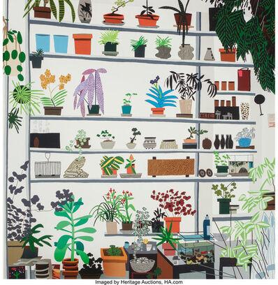 After Jonas Wood, 'Large Shelf Still Life, poster', 2017