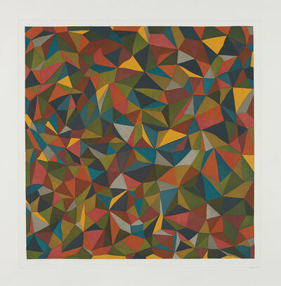 Sol LeWitt, 'Complex Forms: Plate 1', 1990