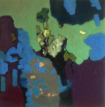 Jennifer Hornyak, 'Pale Green with Plum', 2018