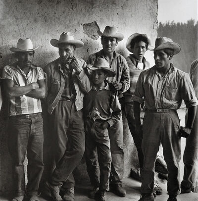 Rodrigo Moya, 'Assemblea, Ranchería El Capulín, Xalatlaco, Estado de México', 1966