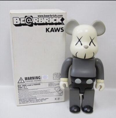 KAWS, 'Bearbrick 400% Grey ', 2002