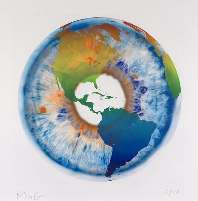 Marc Quinn, 'Eye of History Etching I'