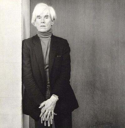 Robert Mapplethorpe, 'Andy Warhol', 1980s