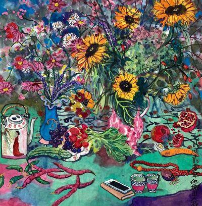 Qiu Jie, 'Fleur d'automne 4,', 2020