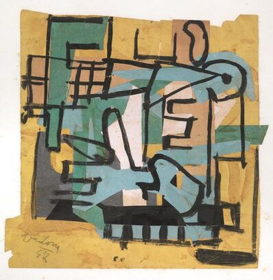 Emilio Vedova, 'Composition', 1947