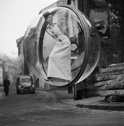 Melvin Sokolsky, 'Delvaux Street, Paris', 1963