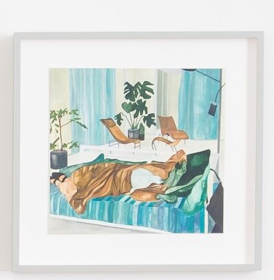 Isa Melsheimer, 'Nr434', 2017