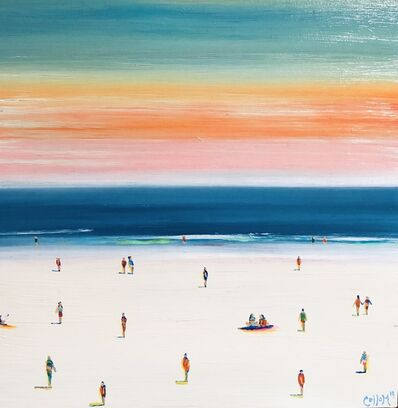 Tim Collom, 'Sunset Beach', 2019