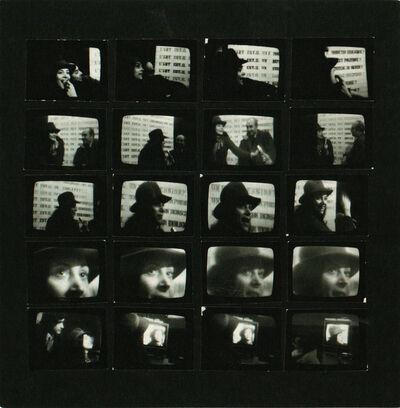 Lea Lublin, 'Interrogations sur l'art. Discours sur l'art.', 1975
