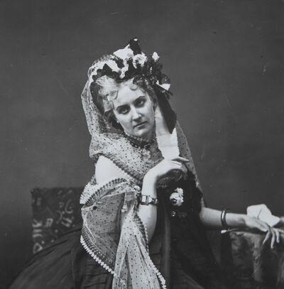 Pierre-Louis Pierson, 'La Comtesse de Castiglione - Instantané', 1861-1867