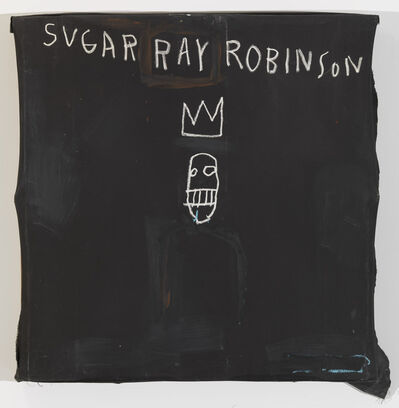 Jean-Michel Basquiat, 'Untitled (Sugar Ray Robinson)', 1982