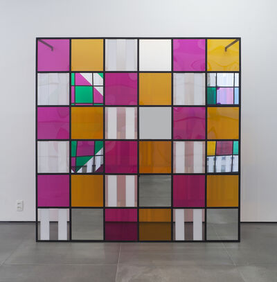 Daniel Buren, 'Photo-souvenir: Colors, light, projection, shadows, transparency: works in situ 6', 2015