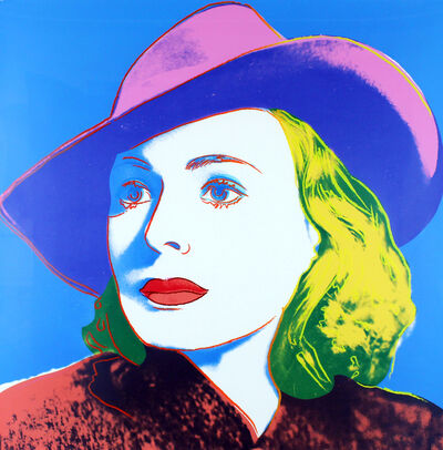 Andy Warhol, 'Ingrid Bergman With Hat (FS II.315)', 1983