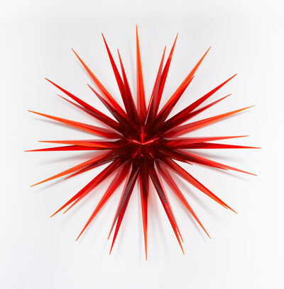 Norman Mooney, 'Red Glass Star', 2011