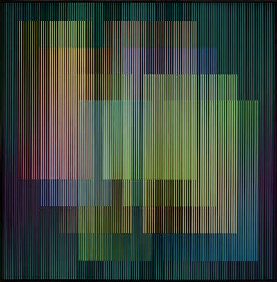 Carlos Cruz-Diez, 'Cromointerferencia Espacial 19', 1964-2015