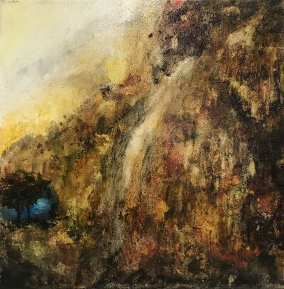 Shyama Nadimpalli, 'Serenity in the Mountains- The Lake', 2019