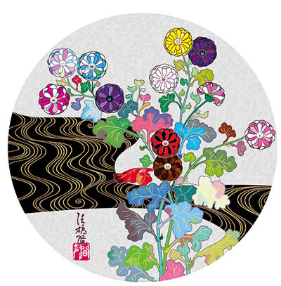 Takashi Murakami, 'Korin: Tranquility', 2015