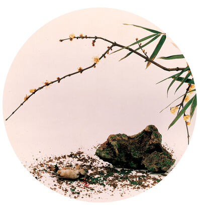 Hong Lei, 'Imitate blossom and shadow by Ma Lin in the Song Dynasty', 1999