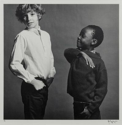 Robert Mapplethorpe, 'Sebastian and Nda', 1981