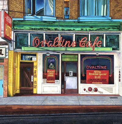 Will Rafuse, 'Ovaltine Cafe ( Circa 1942,  251 East Hastings Street, Vancouver, BC)', 2020
