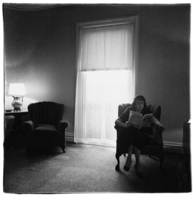 Diane Arbus, 'Lady in a rooming house parlor, Albion, N.Y. 1963', 1963