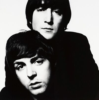 David Bailey, 'John Lennon and Paul McCartney', 1965