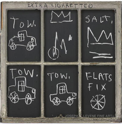 Jean-Michel Basquiat, 'Extra Cigarette', 1982