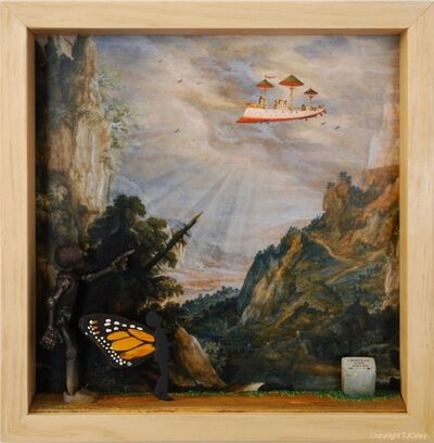 TJ Oxley, 'Butterfly Boy, Chapter 2; The Cloud Captains', ca. 2020