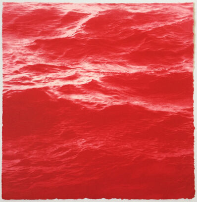 MaryBeth Thielhelm, 'Magenta Sea', 2015
