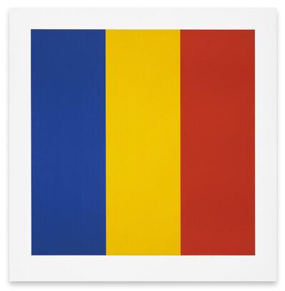 Ellsworth Kelly, 'Blue/Yellow/Red', 1991