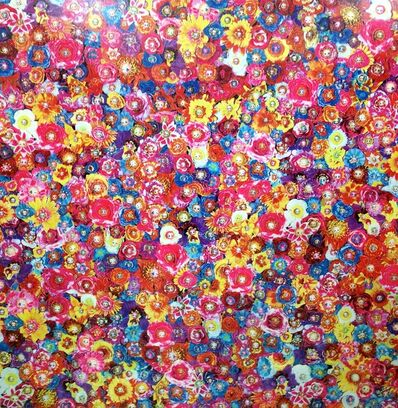 Tetsutaro Kamatani, 'Proliferation Flower Face Rainbow', 2011