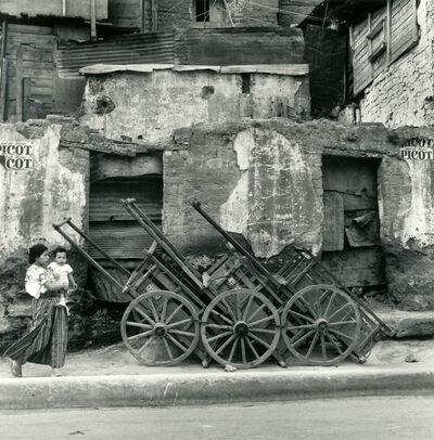 "Mario Algaze, '""Carretas"", Guatemala', 1979"