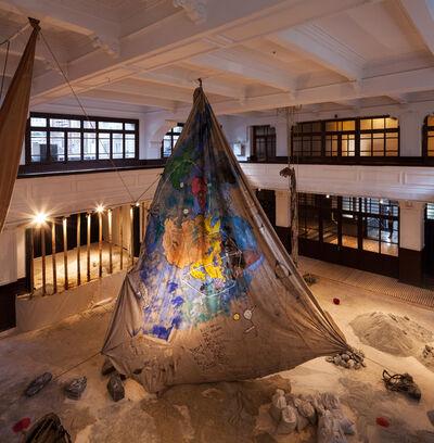 Anna Boghiguian, 'The Salt Traders ', 2015