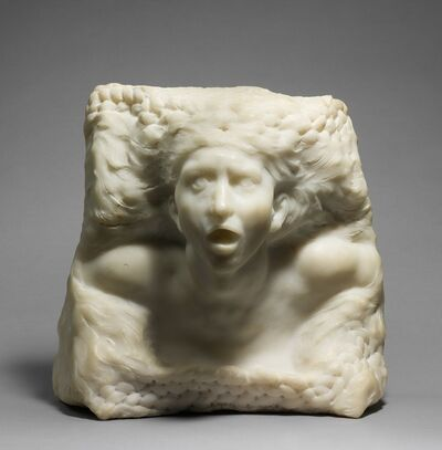 Auguste Rodin, 'The Tempest', Carved before 1910