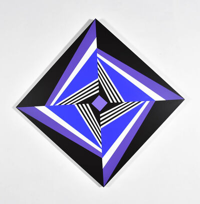 Francis Celentano, 'Diamond Displacement Blue and Purple', 2009
