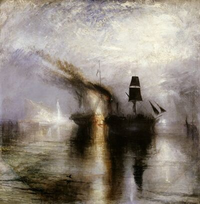 J. M. W. Turner, 'Peace - Burial at Sea', 1842