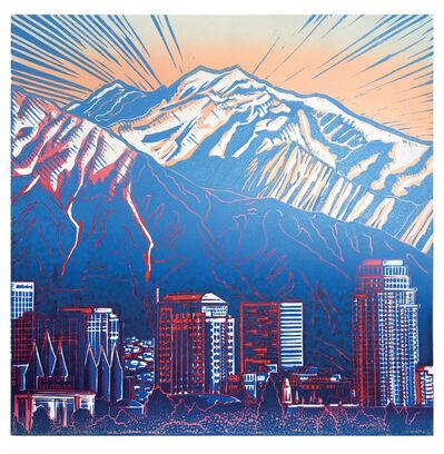 Pia Van Nuland, 'Twin Peaks/SLC/USA', 2018