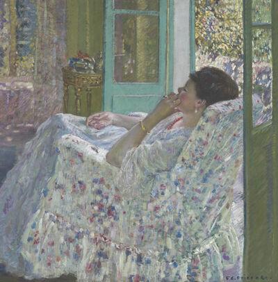 Frederick Carl Frieseke, 'Afternoon - Yellow Room', 1910