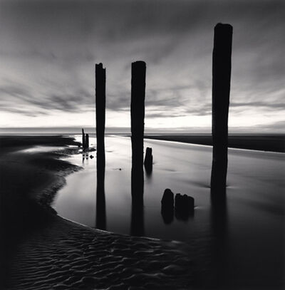 Michael Kenna, 'Last Pier Posts, Pacific Beach, Washington', 2013
