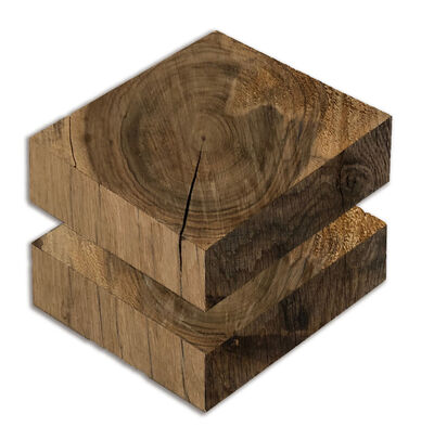 Robert Steng, 'Two Blocks of Wood', 2019