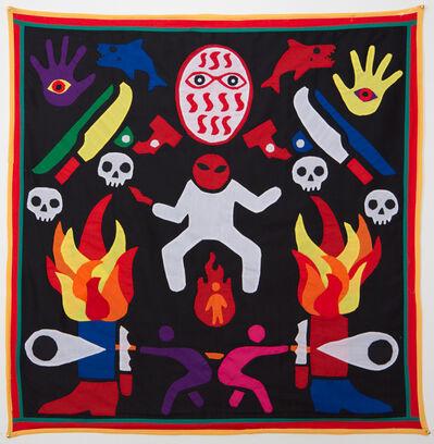 Emo de Medeiros, 'Surtenture #06 (...lest anger's white shadow conquers the fireman)', 2015
